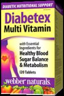 Diabetex Multivitamín Webber Naturals