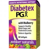 Diabetex PGX s morušou Webber Naturals