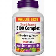 B100 Complex Timed Release Webber Naturals