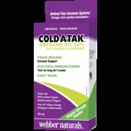 Cold-A-Tak oregano oil 36 % Webber Naturals