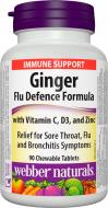 Ginger, Vitamin C + D3, Zinc Webber Naturals