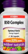 B50 Complex BONUS Webber Naturals