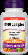 B100 Complex 100 mg Webber Naturals