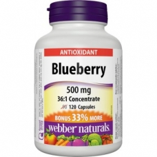 Blueberry 500 mg Webber Naturals