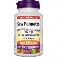 Saw Palmetto 160 mg Webber Naturals