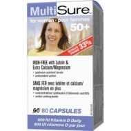 Multi Sure for women 50+ Webber Naturals