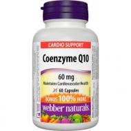 Coenzyme Q10 60 mg Webber Naturals