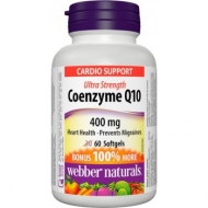 Coenzyme Q10 400 mg Webber Naturals