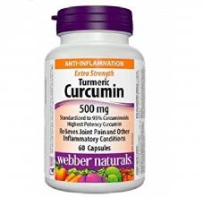 Turmeric Curcumin 500 mg Webber Naturals