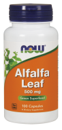 Alfalfa Bio 500 mg Now Foods