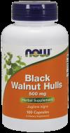 Black Walnut Hulls 500 mg Now Foods