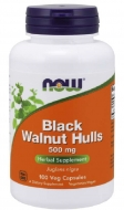 Black Walnut Hulls 500 mg Now Foods