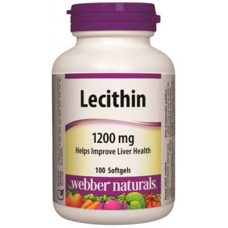 Lecithin 1200 mg Webber Naturals