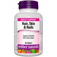 Vlasy, pokožka a nechty multivitamín Webber Naturals