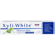 XyliWhite Platinum Mint zubná pasta Now Foods