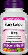 Black Cohosh 40 mg Webber Naturals