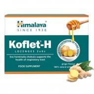 KOFLET-H pastilky na bolesť hrdla s príchuťou zázvor