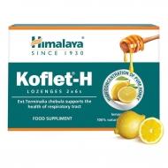 KOFLET-H pastilky na bolesť hrdla s príchuťou citrón