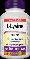 L - Lysine 500 mg Webber Naturals