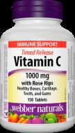 C vitamin 1000 mg, Rose Hips Webber Naturals