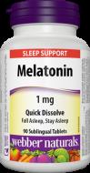Melatonin 1 mg Webber Naturals
