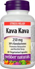 Kava Kava 250 mg Webber Naturals