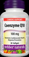 Coenzyme Q10 100 mg Webber Naturals