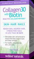Collagen30 + Biotin Webber Naturals