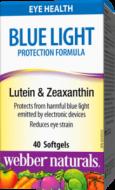 Blue Light Formula, Lutein, Zeaxanthin Webber Naturals