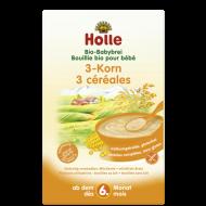 Obilná kaša z 3 obilnín (od ukončeného 6 mesiaca) Holle