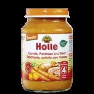 Detská výživa mrkva, zemiaky, hovädzie od 4 mesiaca Holle