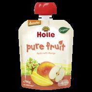 Detské Bio pyré jablko, mango od 4 mesiaca Holle
