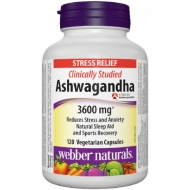 Ashwagandha KMS-66 300 mg Webber Naturals
