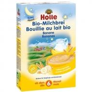 HOLLE bio mliečna kaša s banánom na dobrý spánok (od 6. mesiaca)