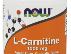 L-Carnitine 1000 mg Now Foods