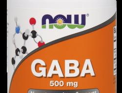 GABA 500 mg Now Foods