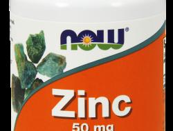 Zinc 50 mg Now Foods