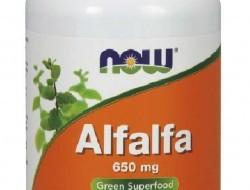Alfalfa 650 mg Now Foods
