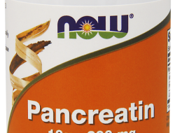 Pancreatin 200 mg Now Foods