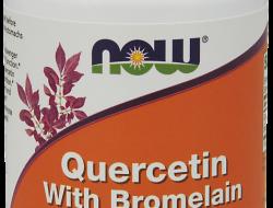 Quercetin, Bromelain 800/165 mg Now Foods