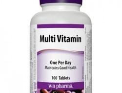 Multi Vitamin complex Webber Naturals