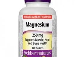 Magnesium 250 mg Webber Naturals