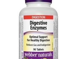 Digestive Enzymes Webber Naturals