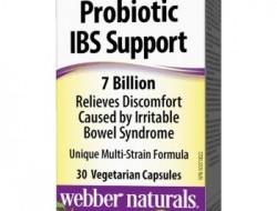 Probiotic IBS Support 7 Billion Webber Naturals