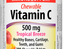 C vitamin 500 mg Tropical Breeze Webber Naturals