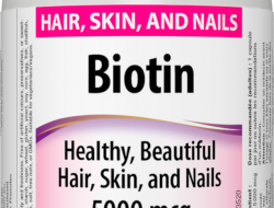 Biotin 5000 mcg Webber Naturals