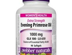 Evening Primrose Oil 1000 mg Webber Naturals