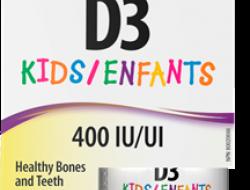 D3 vitamín 400 IU kvapky Webber Naturals