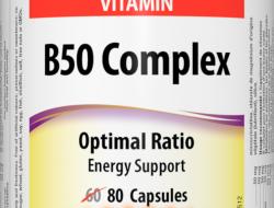 B50 Complex 50 mg Webber Naturals
