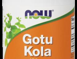 Gotu Kola 450 mg Now Foods